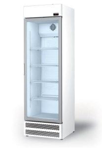glasdeur koelkast eccm met lichtbak