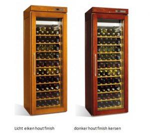 retro houten koelkast voor wijn 1 deurs 1870 mm
