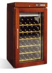 retro houten koelkast voor wijn 1 deurs