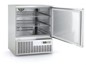 tafelmodel koelkast vrieskast rvs 1-1