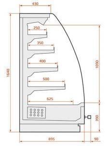 alaska-wandkoelmeubel-model-aries-03-doorsnede-164-cm
