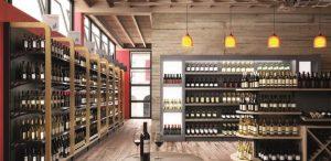 wijn-fles-schappen-voor-slijterij
