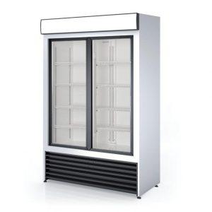 dubbel glasdeur koelkast
